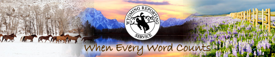 Wyoming Reporting Service, Inc.